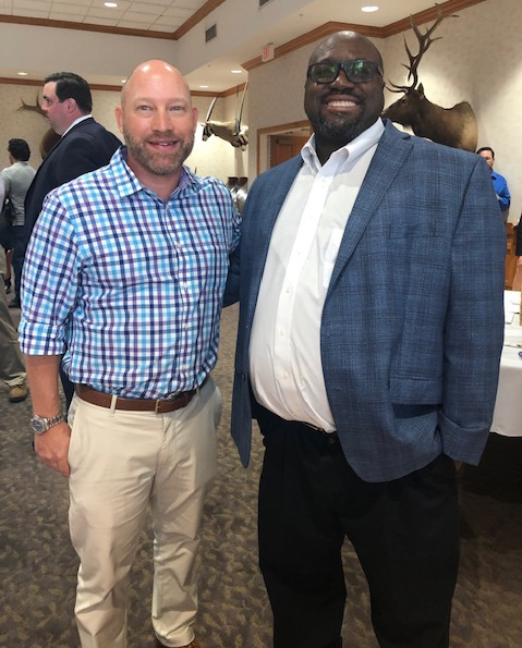Rep. Spencer Roach and Dr. Andre Williams