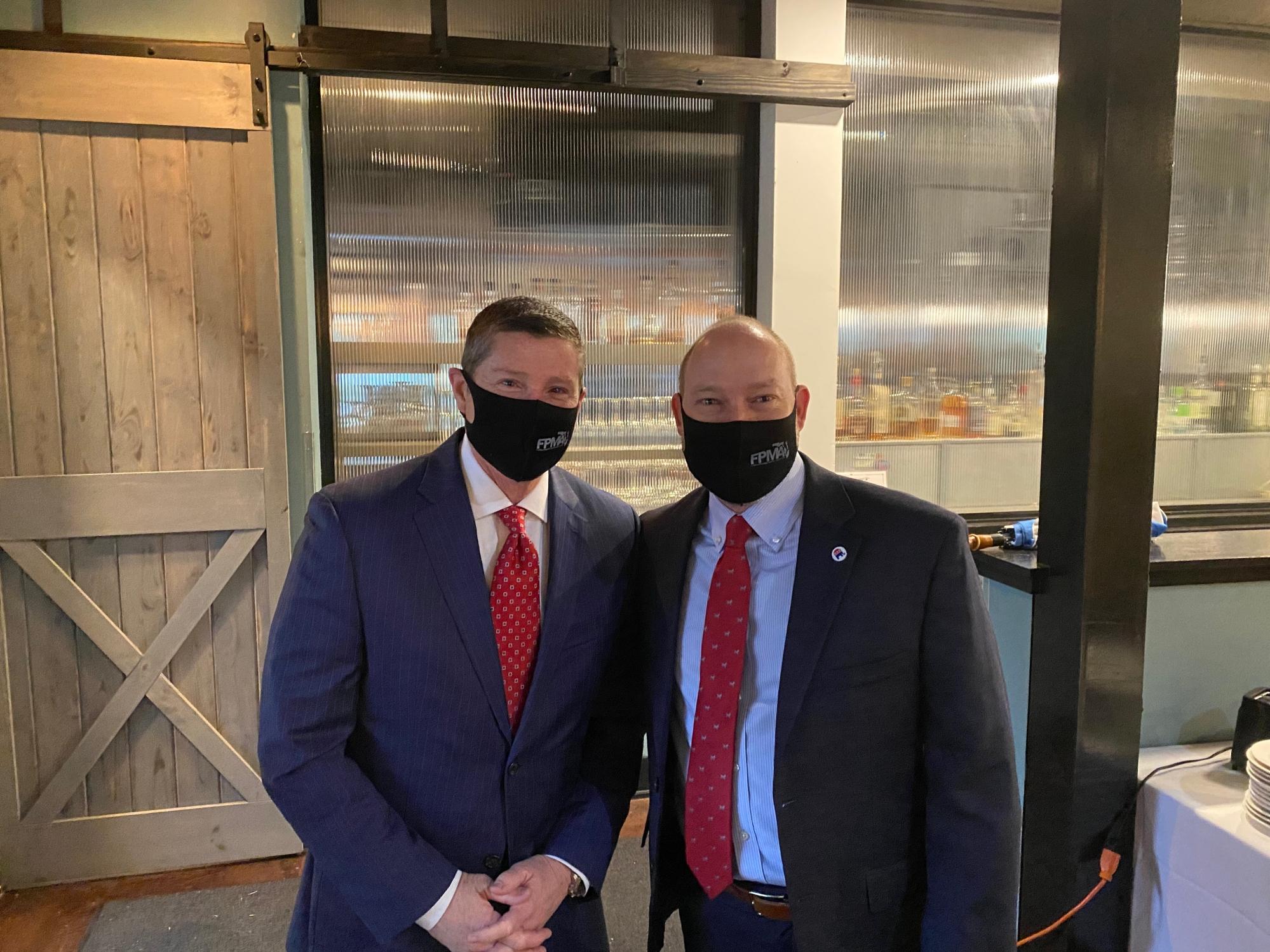 FPMA Lobbyist Chris Hansen with Rep. Spencer Roach