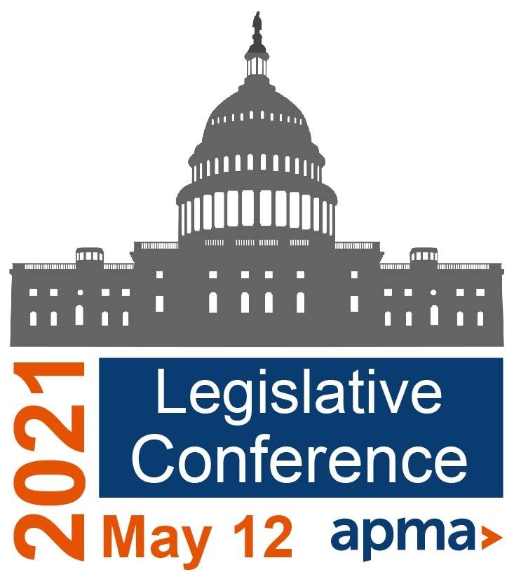 APMA 2021 Legislative Conference Logo