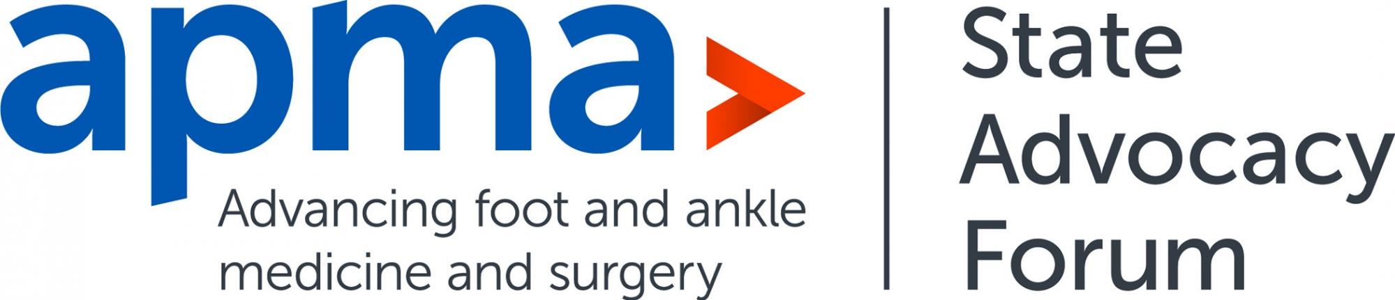APMA State Advocacy Forum logo