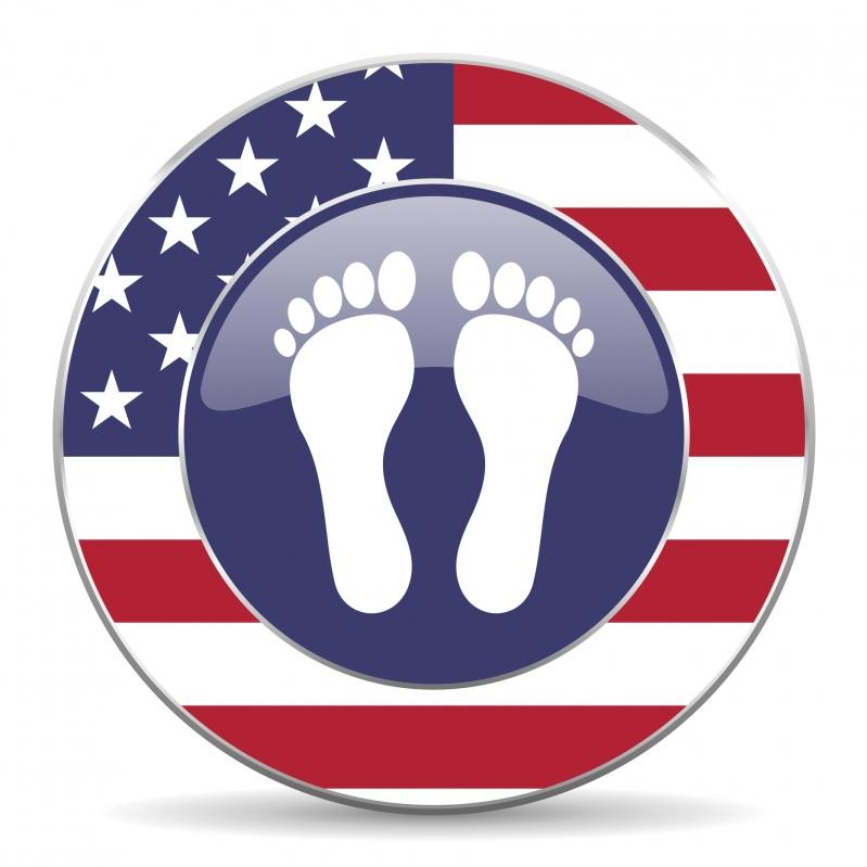 Patriotic Feet