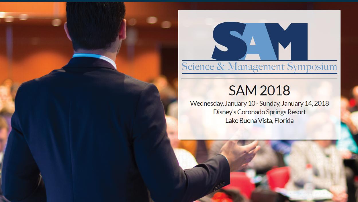SAM 2018 Logo