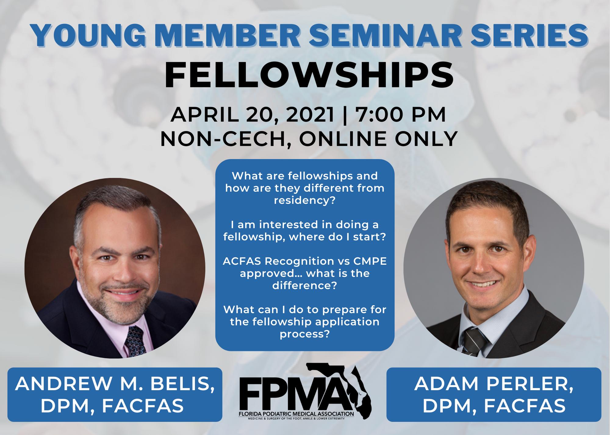 Young Member Seminar Series graphic
